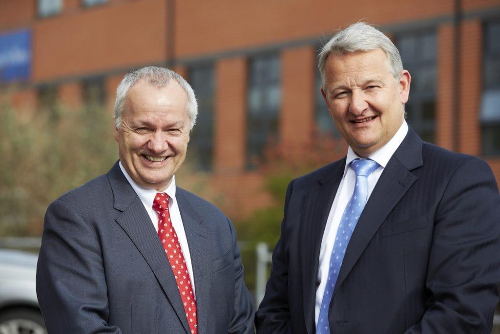 John Warner and Nigel Bullas